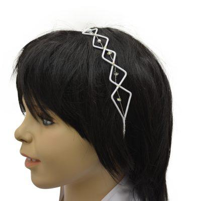Kopfschmuck Haarreif für Kommunion