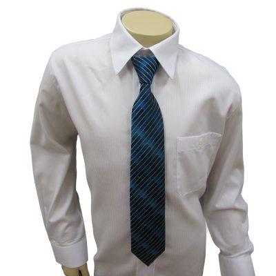 Krawatte türkis blau gemustert