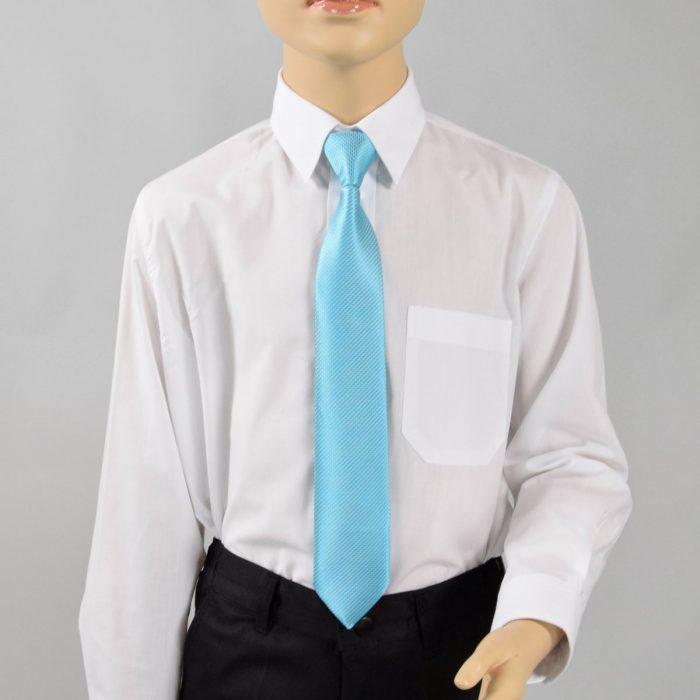Kinder Krawatte türkis